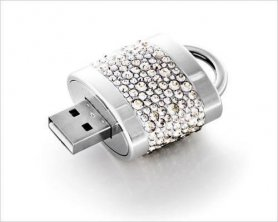 USB Flash Drive - A Lock