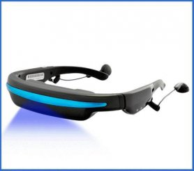 "Video Glasses Hi-Tech 52"" virtual screen"