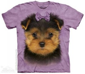3D motif animal - Chiot Yorkshire