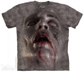 Mountain T-shirt - Zombie face