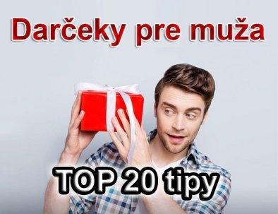 Dárky pro muže 2021: TOP # 20 tipů dárek pro muže
