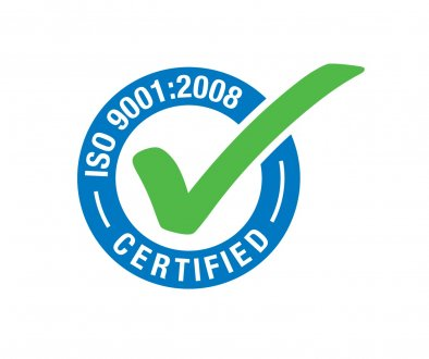 We have gained: Quality Certificate EN ISO 9001:2008
