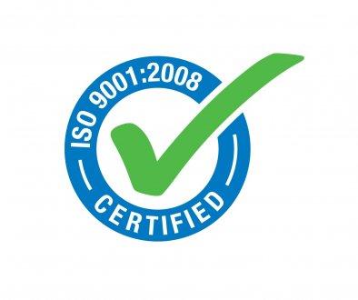 Abbiamo ottenuto: Certificazione di Qualità EN ISO 9001: 2008