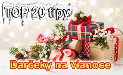 Dárky na Vánoce 2021: TOP # 20 tipy vánoční dárek pod stromeček