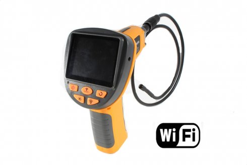 "Professional borescope 640x480 with WiFi and color 3,5"" LCD"