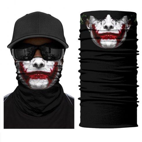 ジョーカー-保護面またはヘッドスカーフ