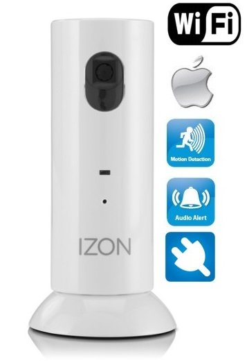 iZON - Camera with motion detection (tracking through mobile)