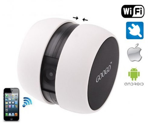 WiFi Camera with live streaming - GOOGO