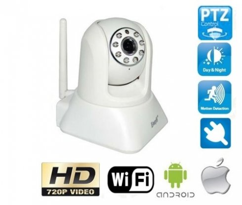 Wireless IP Camera HD 1280x720 (Rotary)