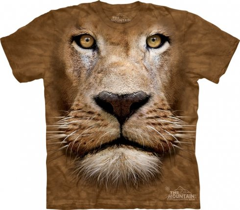Animal face t-shirt - Lion