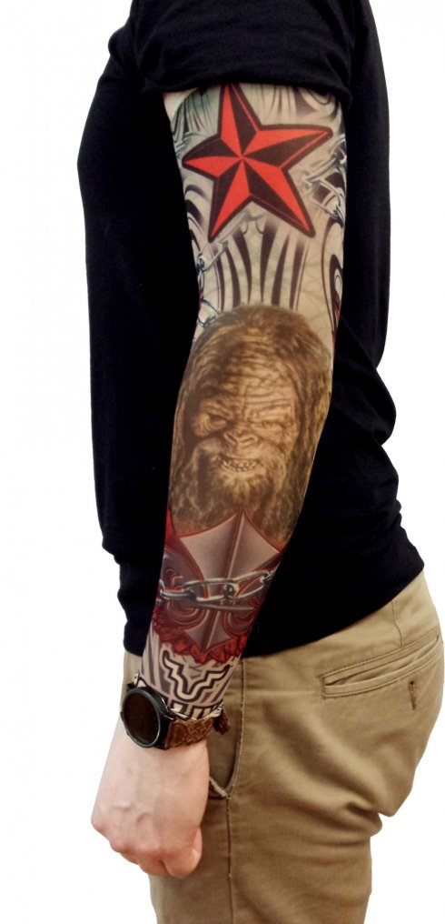 Tattoo sleeve - Bigfoot