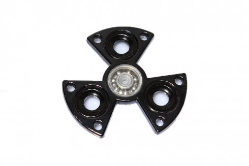 Fidget Spinner BLACK - metallic