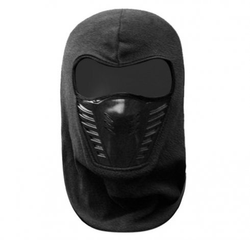 Ski balaclava for winter (snowboard, snowmobile) - Black Ninja