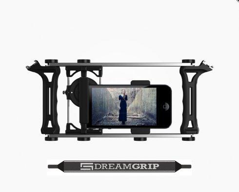 DreamGrip Evolution PRO - Universal adjustable set for smartphones, cameras and digital mirror cameras
