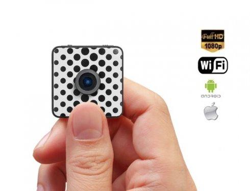 Мини-водонепроницаемая камера Full HD - FOXSHOT с клеящей функцией