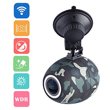 Wireless car camera FULL HD + external button