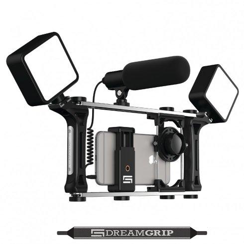 DreamGrip Evolution MOJO - set pentru smartphone-uri, camere foto și camere digitale cu oglindă