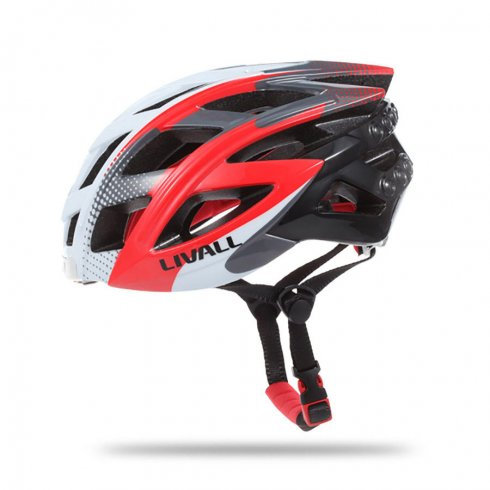 Bike helmet - Intelligent Smart LED helmet with remote control on the handlebars