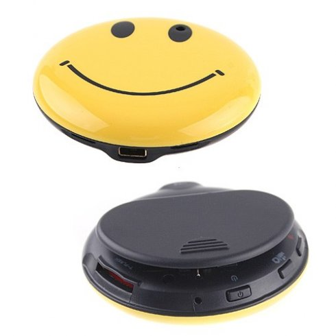 Hidden spy camera - Smiley