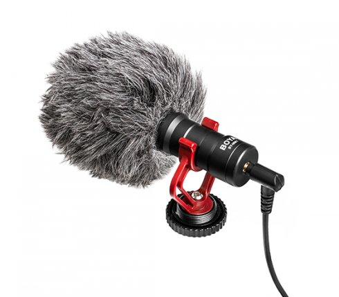 Microphone BOYA BY-MM1 (also compatible with Android and iOS devices)