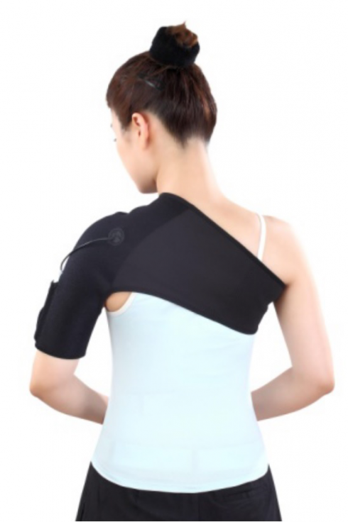 Heat belt for the left shoulder