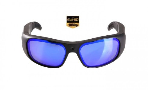 Waterproof sunglasses FULL HD camera with UV filter + 16GB memory