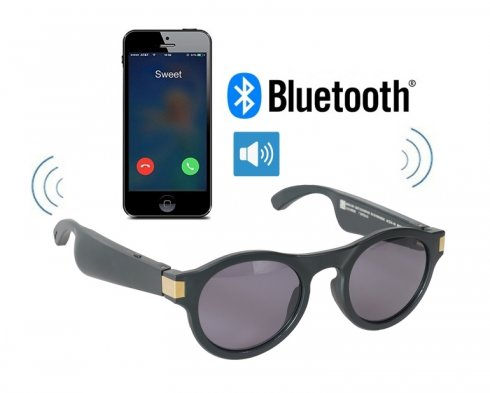 Glasses that play music + making phone calls (Bluetooth support)
