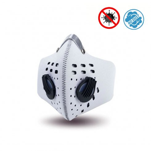 Respirators - Neoprene face masks multistage filtration - XProtect white