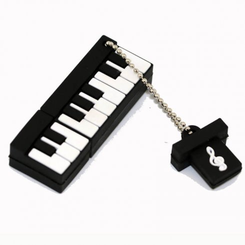 Funny USB 16GB - Black Piano