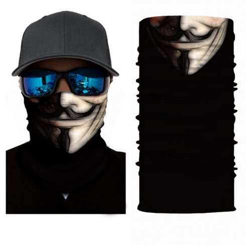 VENDETA (Anonymous) - protective scarf on face or head