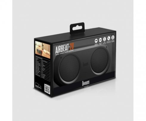 Airbeat 20 dual bluetooth speakers 2x4W waterproof