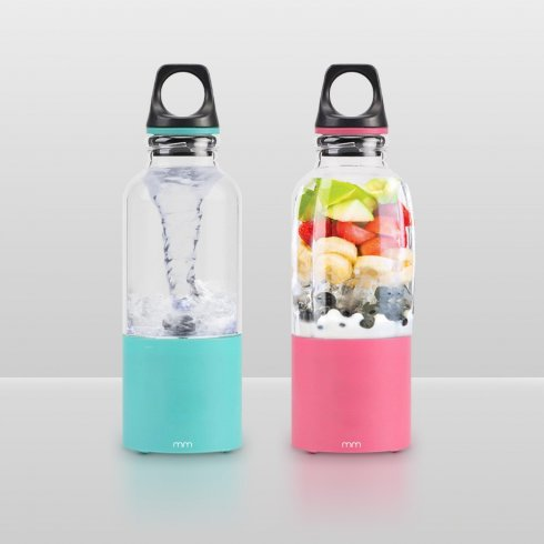 Smoothie mixer portable(shaker) forfruits + drinks (with 2600 mAh battery)
