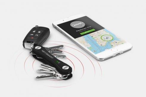 KeySmart Pro: organizador de teclas con localizador GPS y luz LED
