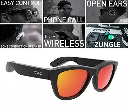 ZUNGLE Sunglasses - occhiali rivoluzionari con bluetooth e altoparlanti