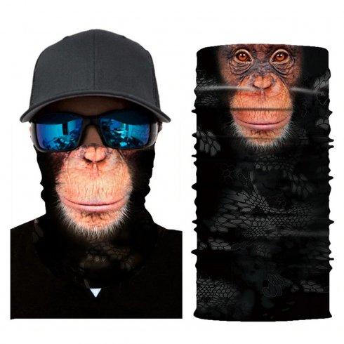 顔の保護バンダナまたはスカーフ-モンキー
