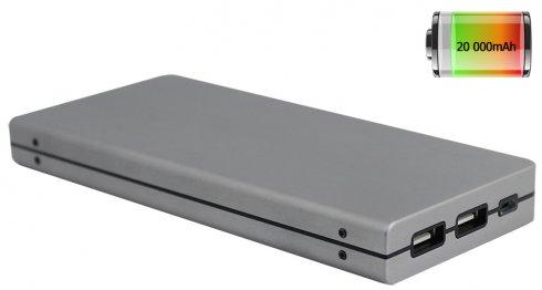 Zewnętrzna bateria - Super wydajność dzięki pojemności do 20000mAh