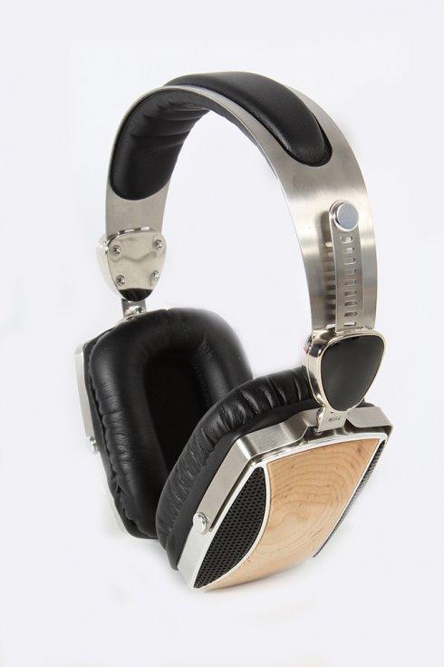 Auriculares de madera Profi ESMOOTH ES-665BH