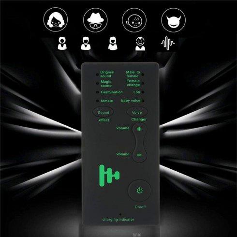 Modifikator glasa za poziv (7 načina) + slušalice s mikrofonom