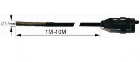 10 m hattyúnyak - 5,5 mm-es cső + 5,5 mm len