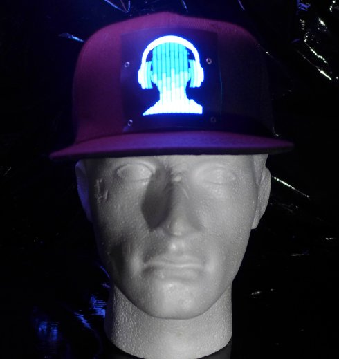 Cap Party avec LED - Casques DJ