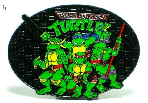 Belt buckle - Ninja Turtles