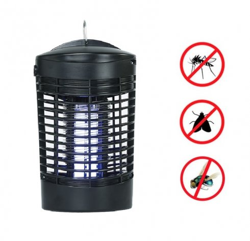 Mosquito killer e catcher UV Zapper - 360 ° con una potenza di 7W