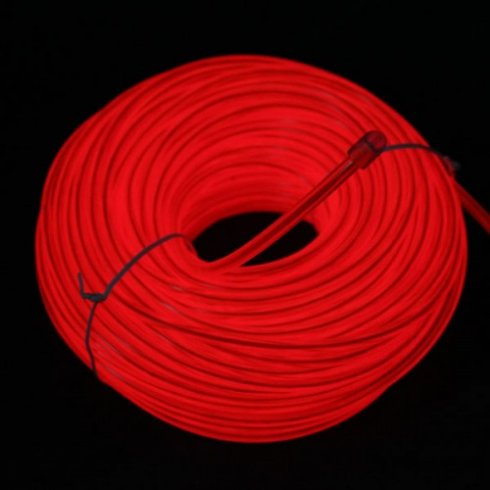 Thick wire 5,0 mm - red
