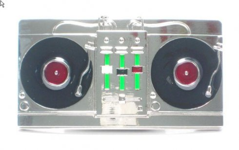 ベルトバックル - DJプレーヤー