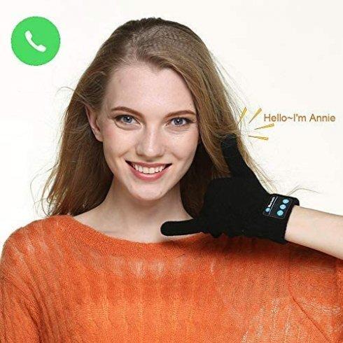 Gants de téléphone Bluetooth - Gants de smartphone pour les appels téléphoniques + tactile