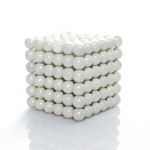 Магнітні кульки неокуба - 5 мм білі