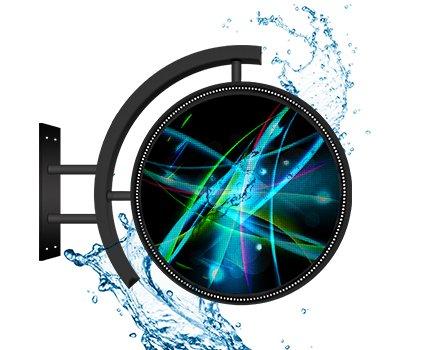 Outdoor LED kulatý displej (průměr 600mm) + Android aplikace + WIFI + USB