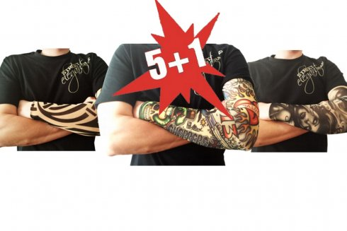 Action - 5+1 Tattoo sleeves