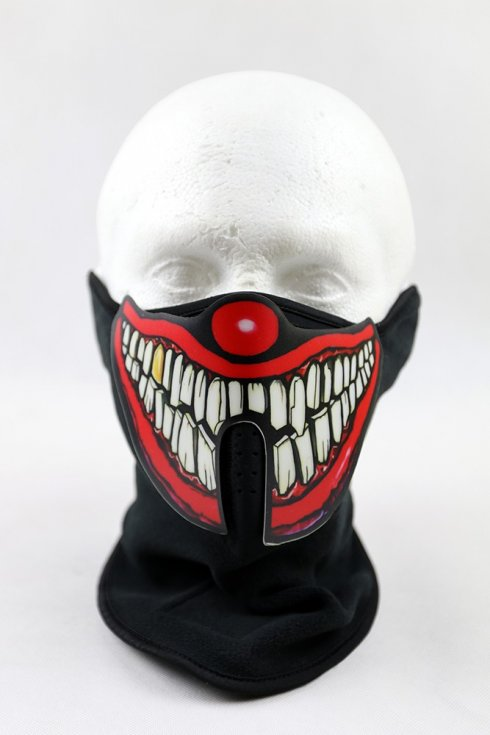 LED carnival mask sound sensitive - clown