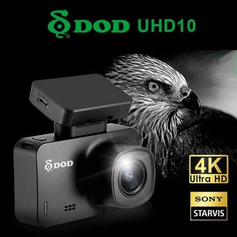 """DOD UHD10 - 4K kamera za automobil s GPS-om + kut gledanja od 170 ° + zaslon od 2,5 """""""